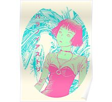 Paranoia Street - Neon Poster