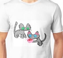 Two Cats On ValentinesDay Unisex T-Shirt