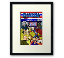 Super Bernie! Framed Print