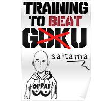 Training To Beat Saitama! Poster