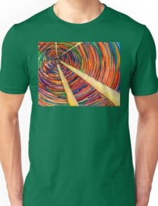 Confusion, Colored Pencil Drawing Unisex T-Shirt
