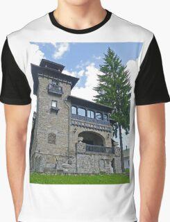 House, Sinaia, Romania Graphic T-Shirt