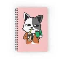 Sly Cat Spiral Notebook