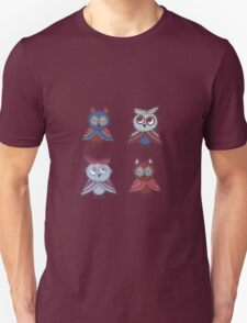 Two smart owls Unisex T-Shirt