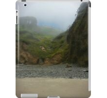Foggy Beach House iPad Case/Skin