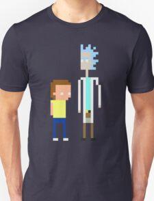 Rick and Morty Pixels  T-Shirt