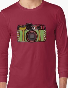 Vintage film camera big Long Sleeve T-Shirt