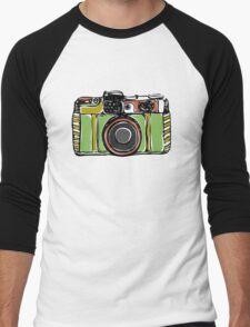 Vintage film camera big Men's Baseball ¾ T-Shirt