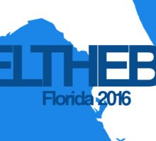 #feelthebern - Florida Sticker