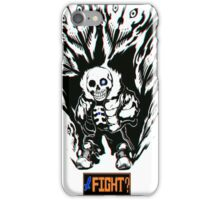 Sans Challenges You iPhone Case/Skin
