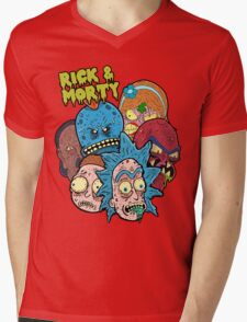 Rick and Morty Universe  Mens V-Neck T-Shirt