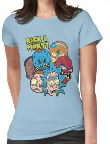 Rick and Morty Universe  Womens Fitted T-Shirt