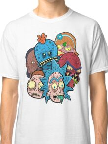 Rick nd Morty Classic T-Shirt
