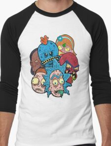 Rick nd Morty Men's Baseball ¾ T-Shirt