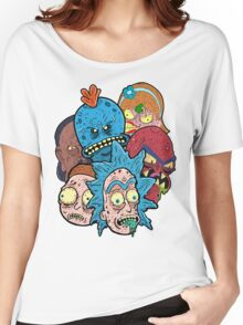 Rick nd Morty Women's Relaxed Fit T-Shirt