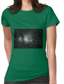 Orion Nebula 2-2-2016 Womens Fitted T-Shirt