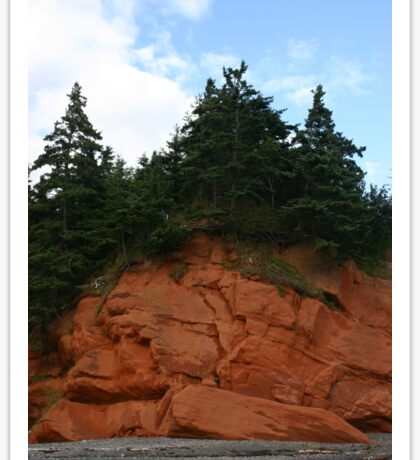 Cape Chignecto Nova Scotia Sticker