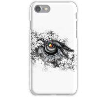 Owl in Black Snow iPhone Case/Skin