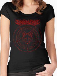 babymetal fox god (2) Women's Fitted Scoop T-Shirt