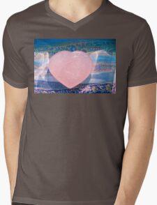 Hearts On Fire 5849 Mens V-Neck T-Shirt