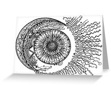 Sun, Moon & Stars Greeting Card