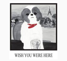 Wish You Were Here (with Words) Kids Clothes