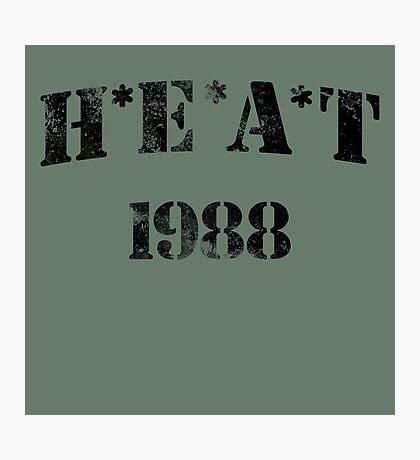 H*E*A*T Photographic Print
