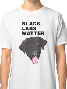 Black Labs Matter Classic T-Shirt