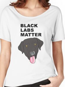 Black Labs Matter Women's Relaxed Fit T-Shirt