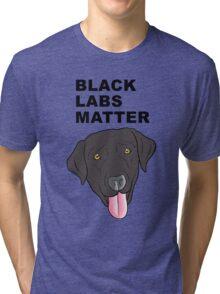Black Labs Matter Tri-blend T-Shirt