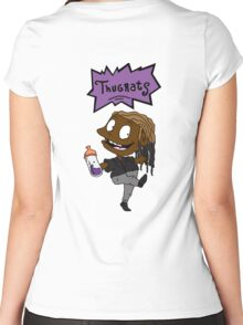 Future - Thugrats Women's Fitted Scoop T-Shirt