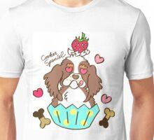 Cooker Spaniel Cupcake - tri color, party color Unisex T-Shirt
