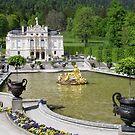 Royal Castle of Linderhof  by Ellanita