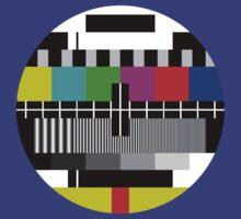 TV test Screen by MuralDecal