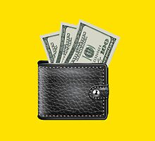 wallet with money by chantelle bezant