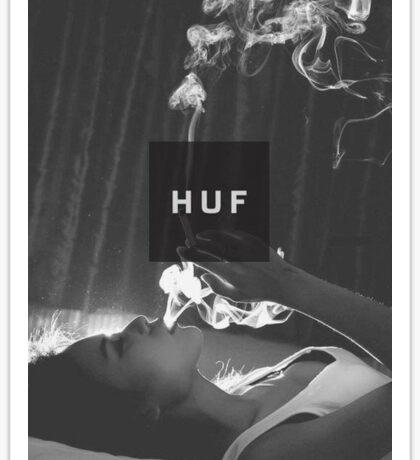 HUF WorldWide Girl Sticker