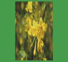 Fragrant Yellow Flowers Of Carolina Jasmine  One Piece - Short Sleeve
