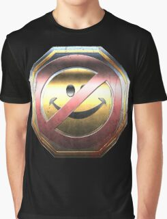 Halo - Kill Joy Medal - Metallic Design Graphic T-Shirt