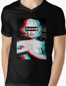 Supreme Marilyn Monroe Mens V-Neck T-Shirt