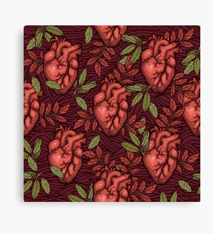 secret hearts Canvas Print