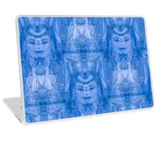 The Sapphire Faces Laptop Skin