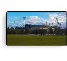 Melbourne Cricket Ground Canvas Print