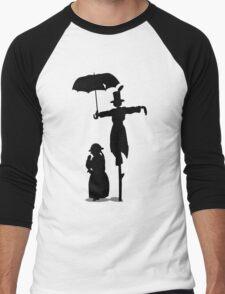 Turniphead Men's Baseball ¾ T-Shirt