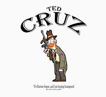 Ted Cruz:  It's Election season...and I am hunting Immigrants! Men's Baseball ¾ T-Shirt