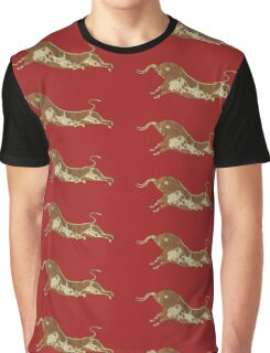 Let's go run with a bull in Knossos Graphic T-Shirt