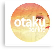 otaku.for life-version #1 Canvas Print