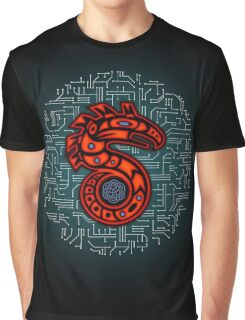 Shadowrun S - Old School Circuit Board Graphic T-Shirt