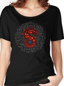 Shadowrun S - Old School Circuit Board Women's Relaxed Fit T-Shirt