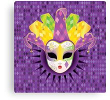 Full Face Mask 2 Canvas Print