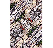 Scene of City Structures Photographic Print